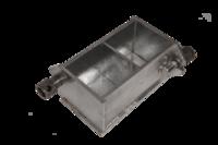 Форма куба 2ФК-100 двухгнездовая (для бетона)