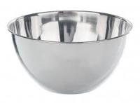 Чаша плоскодонная 10л из нерж. стали