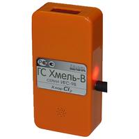 Газосигнализатор ИГС «Хмель-В» со встроенным индикатором в комплекте с блоком питания на Хлор (Сl2)