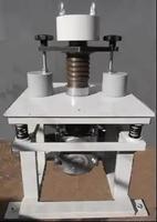 Виброплощадка ВЛ-1УТ с мех. креплением для форм, таймером и пригрузами для уплатнения а/б ГОСТ 12801