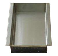 Тигель для выжигания асфальтобетонной смеси, 500 мл., нерж. сталь